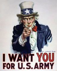 I WANT YOU FOR U.S. ARMY.